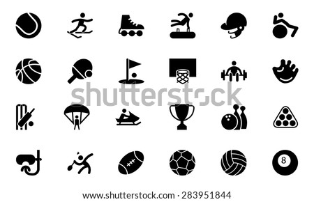 Sports Vector Icons 1