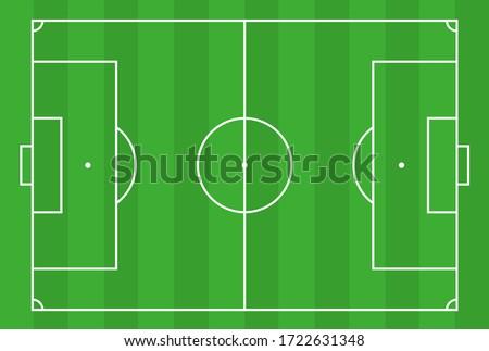 sports vector soccer field illustration