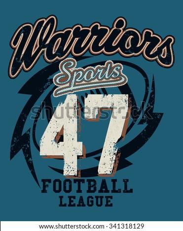 sports warriors football league