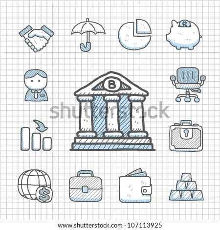 Spotless series | Hand drawn Finance icon