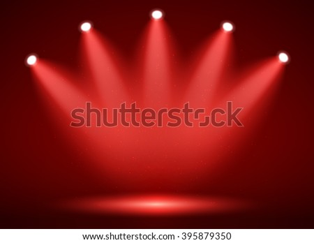 stock-vector-spotlight-on-stage-for-your-design-colorful-light-vector-illustration