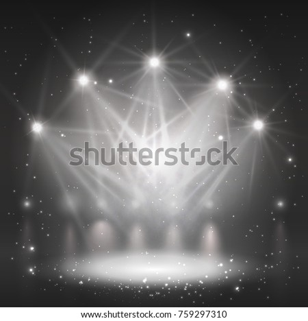 spotlight on stage for your