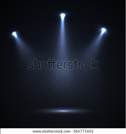Spotlight vector background. Vector eps10. - Shutterstock ID 366771602