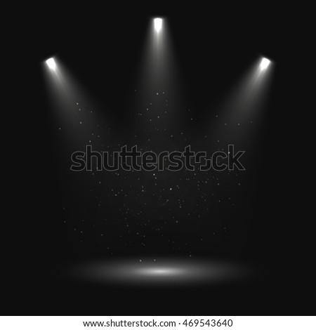 Spotlight vector background. Vector eps10. #469543640