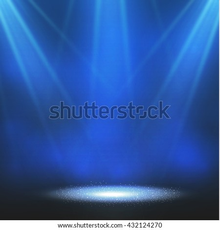 Spotlight. Vector illustration #432124270