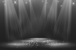 Spotlight vintage background Vector illustration eps 10