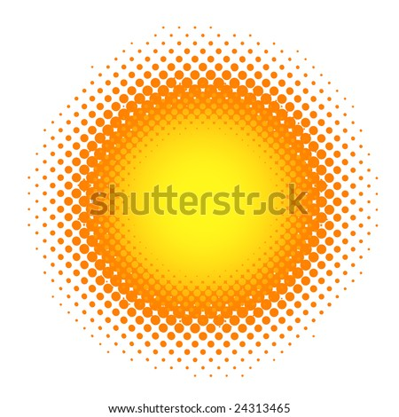 Spotted background. Vector-Illustration