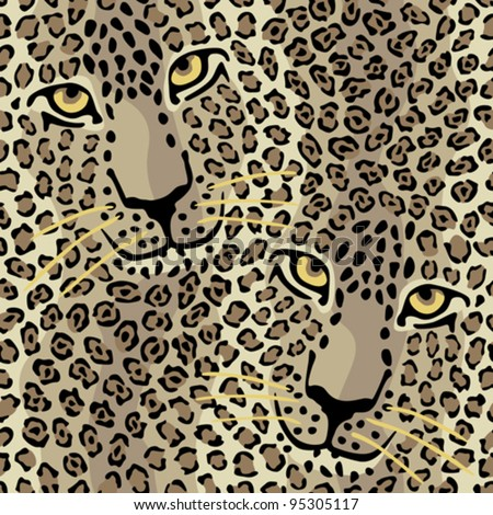 spotted cats pattern repeats