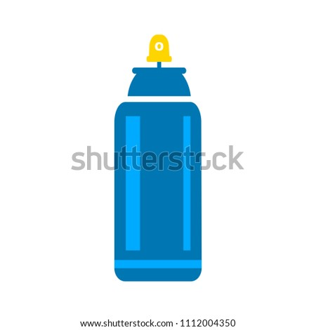 spray can icon - aerosol bottle, vector bottle, art symbol