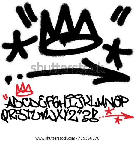 spray graffiti tagging signs