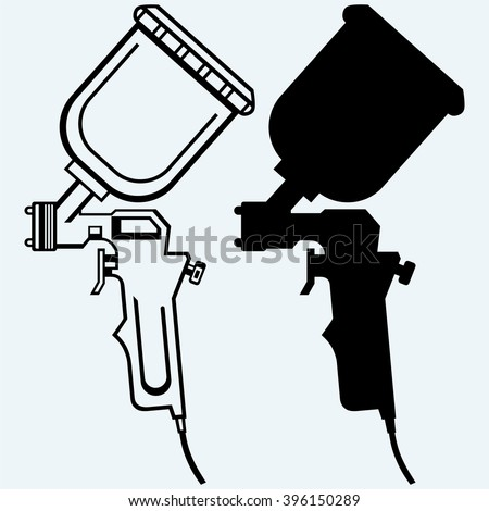 Vector Images Illustrations And Cliparts Spray Gun