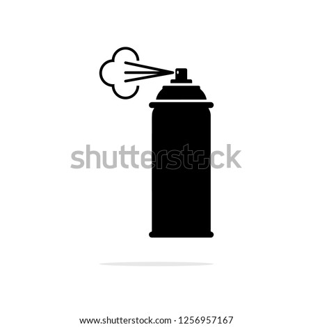 spray icon. Vector concept illustration for design.