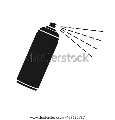 spray icon vector flat icon