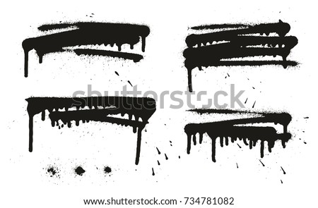 spray paint abstract vector