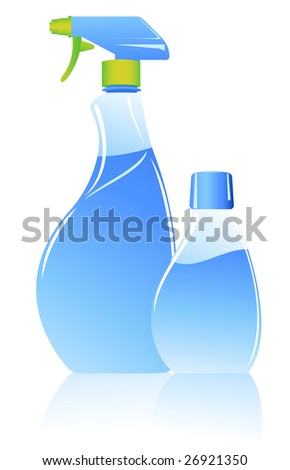 Spray, vector illustration, EPS file included