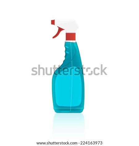 Spray wash detergent