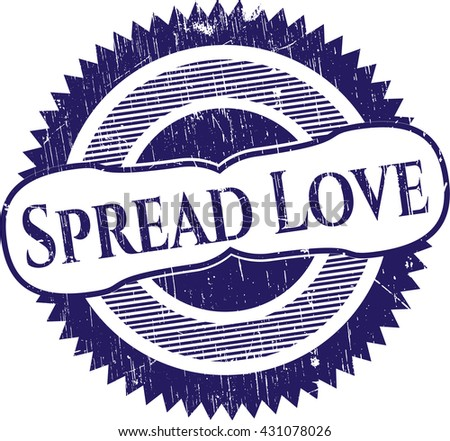 Spread Love rubber seal