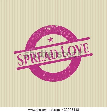 Spread Love rubber seal