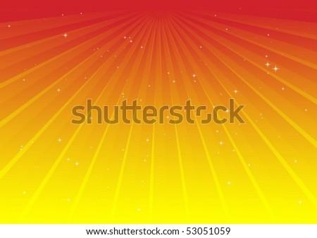 Spreading vector rays