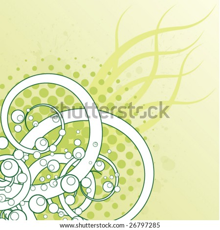 Spring Abstract - stock vector