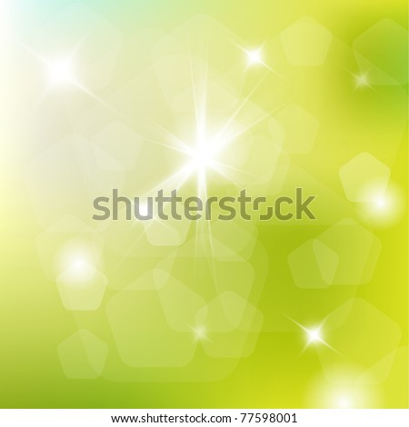 Spring abstract background with place for your text