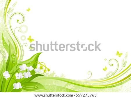 spring background easter