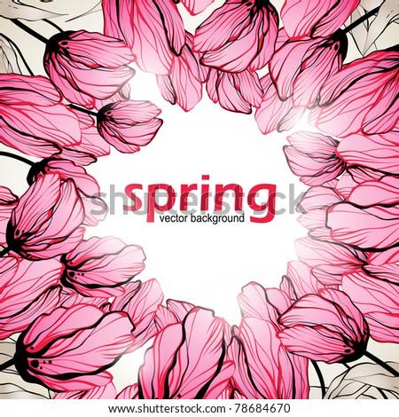 spring background  eps10