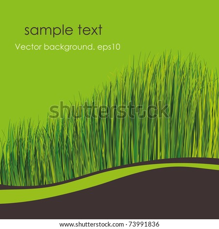 Spring background. EPS10. Place for your text - stock vector