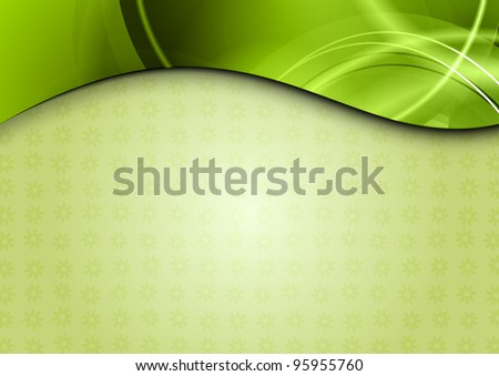 spring background in the green color