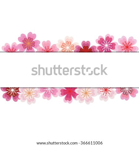 spring background with sakura