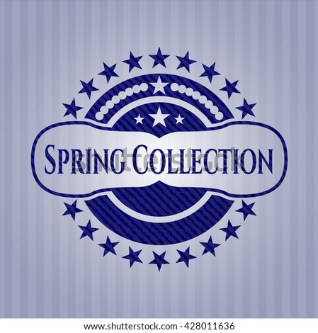 Spring Collection jean background