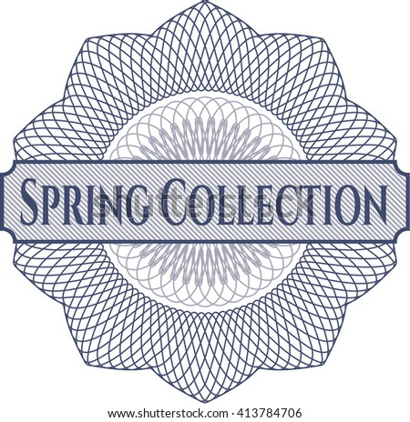 Spring Collection linear rosette