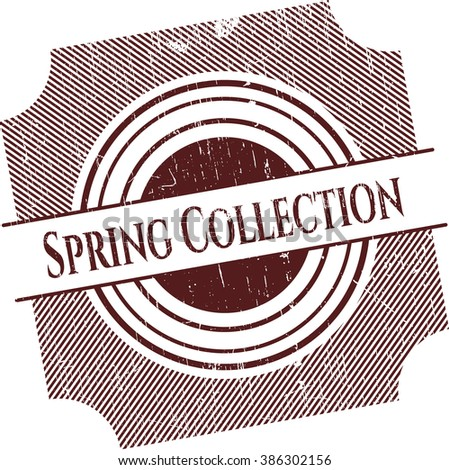Spring Collection rubber texture