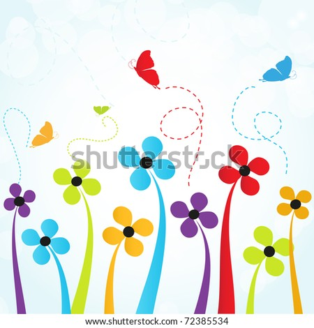 Spring is coming - stock vector
