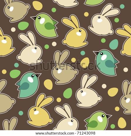 Spring Pattern Seamless