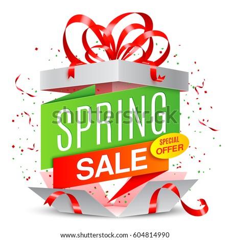 Spring Sale Announcement