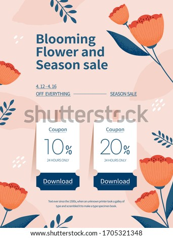 spring season sale coupon web