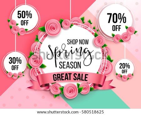 spring season sale offer