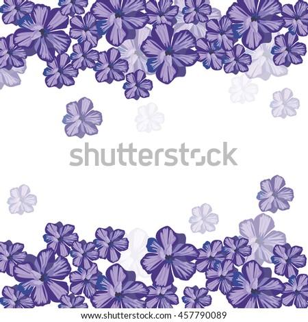 spring summer floral greeting