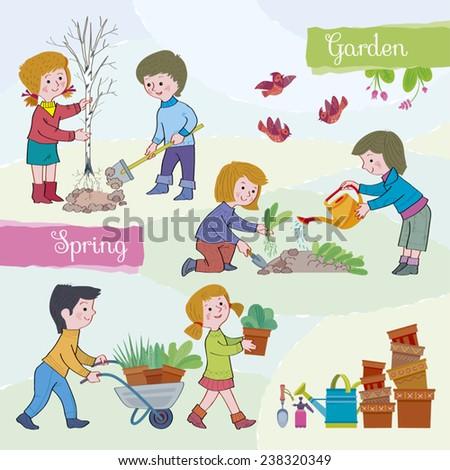spring tide gardenchildren