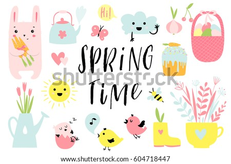 spring time and easter