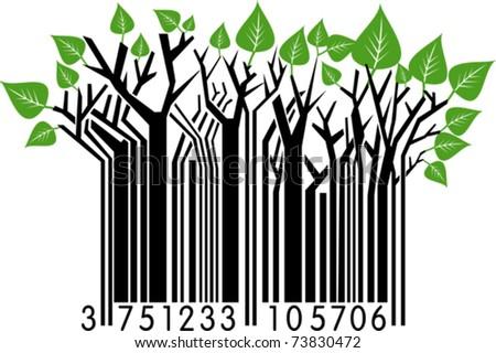 Springtime Barcode