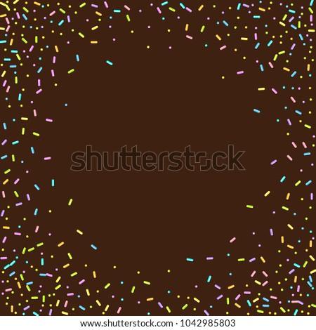 sprinkles grainy sweet
