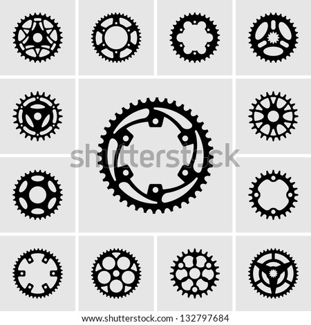Sprockets - stock vector