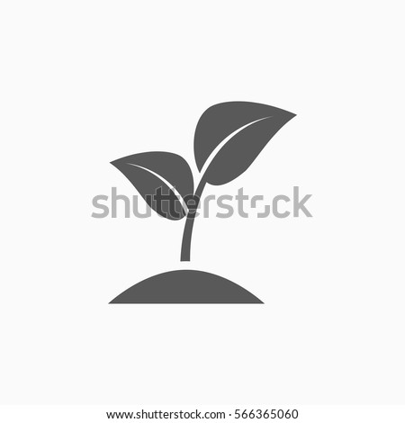 sprout icon ストックフォト ©