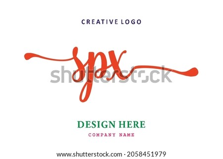 SPX lettering logo is simple, easy to understand and authoritative