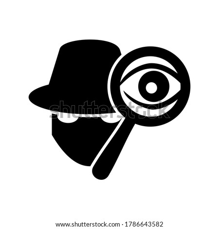 spy icon or logo isolated sign symbol vector illustration - high quality black style vector icons  Stock photo ©