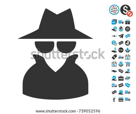 spy icon with free bonus