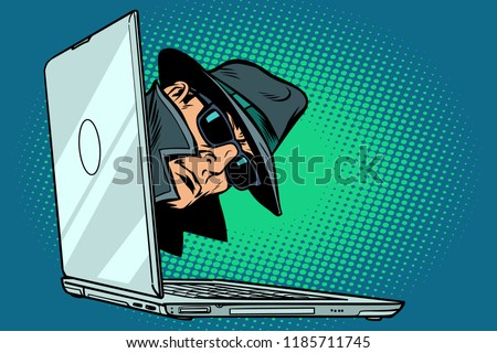 spy laptop computer