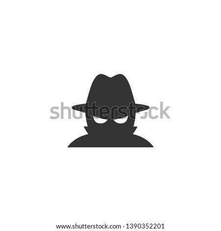 Spyware icon in simple design. Vector illustration Сток-фото ©